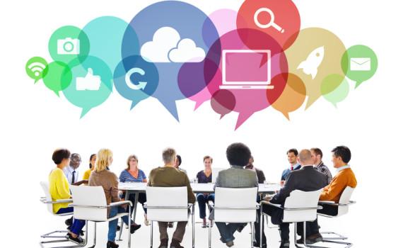 Social Media Boardroom Discussion